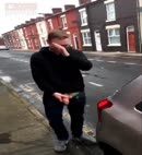 Lad Pissing In The Street