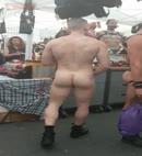 Folsom St Naked Man