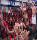 Rugby Player Loses His Towel