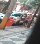 Lad Fucks In The Street