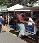 Black Man Strips Naked