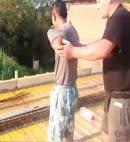 Roofer Gets Pantsed