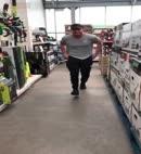 Dick Dance In A Shop
