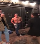 Lad Strips Naked At The Pub