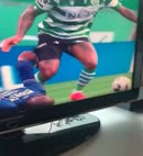 Footballers Dick Falls Out