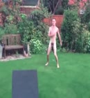 Naked Lads In The Garden