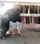 Man Changes Into A Kilt