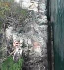 Naked Cliff Diver