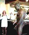 Big Black Hen Night Stripper