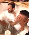Two Men In A Hot Tub