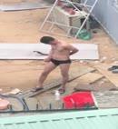 Builder Gets Dressed