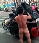 Naked Trashman