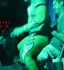 Gay Stripper Gives A Lap Dance