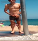 Dick Flash At The Beach