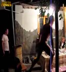 russian party lads dance