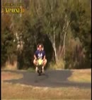 Naked Wheelie Random Redneck Stunts