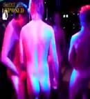 lads strip for hen night
