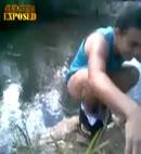 lake toilet