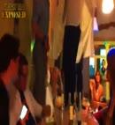 hotel lads' strip dance