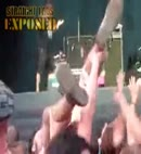 Highfield 2010 naked crowd surfing 2