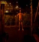 naked man street