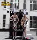 naked Lunch balloon dance