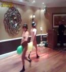 Naked Balloon Dance