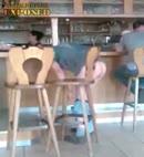 pants down at the bar