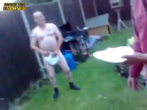 naked barbecue lad