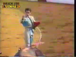 bullfighter pop out