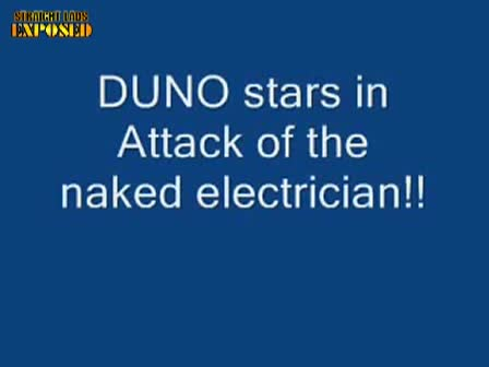 attack of naked electrician