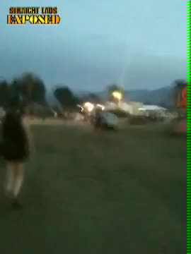 Naked Acid Guy Takedown Coachella 2010