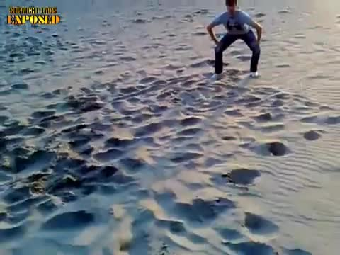 naked beach fun